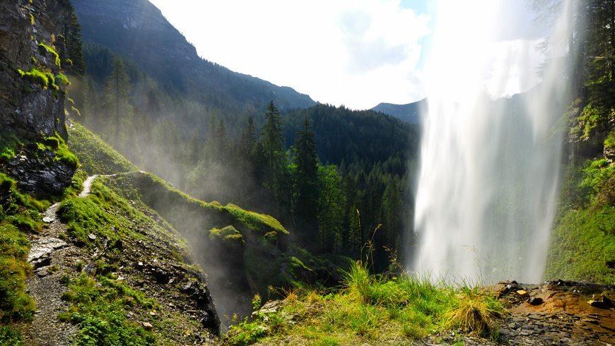 Wasserfall in Obertauern