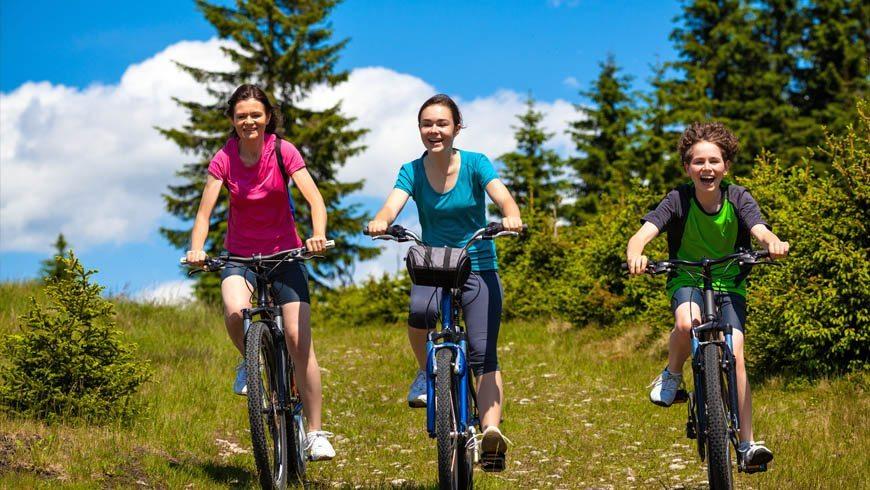 Radfahren in Obertauern