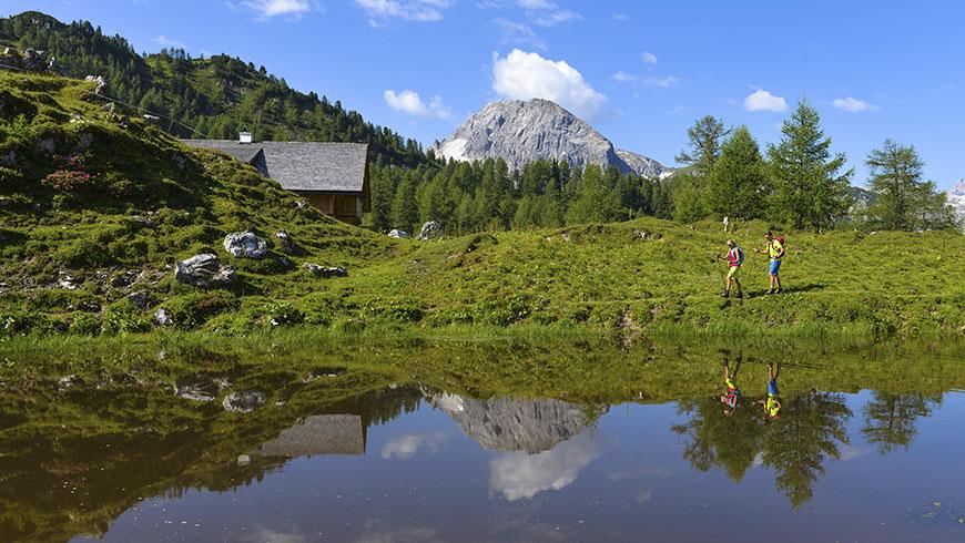 Hütten in Obertauern