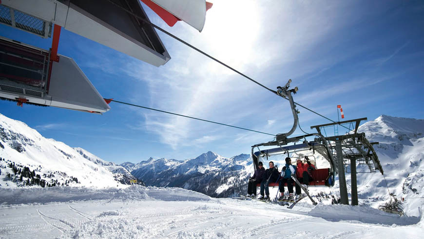Lift in Obertauern